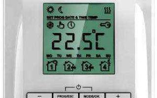 Реле температуры воздуха и воды: виды, параметры