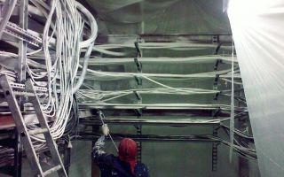 Огнезащитное покрытие кабелей: типы, требования, порядок обработки