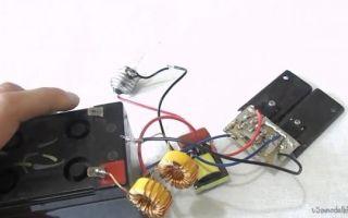 Как собрать контрольку на 12 и 220 вольт своими руками?