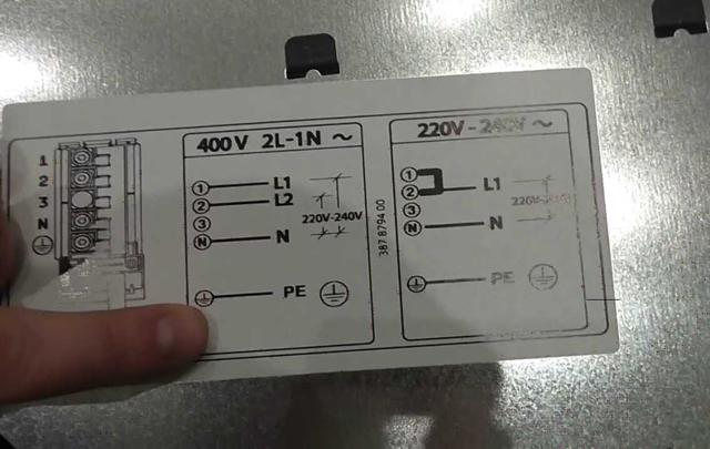 Подключение варочной панели самостоятельно: схема, видео