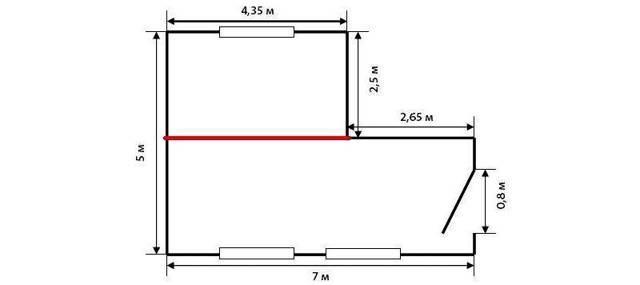 Сколько светильников нужно на 27 квадратных метров помещения?
