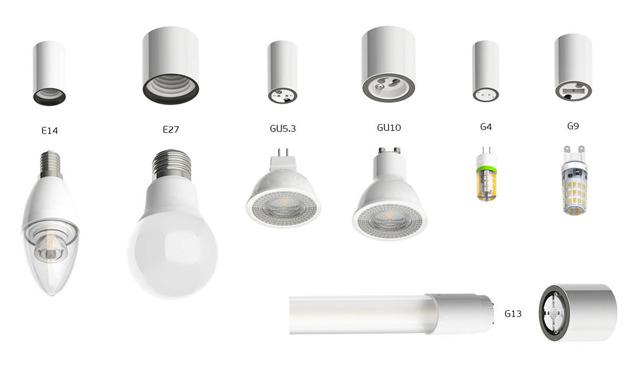 Почему лампочка не вкручивается в точечный светильник?