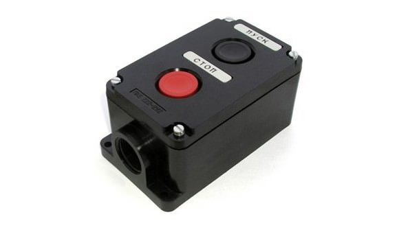 Кнопочный пост управления на 2 и 3 кнопки