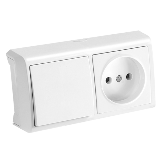 Розетка с выключателем: установка, схемы подключения