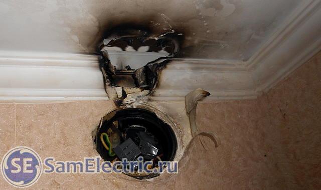 Почему вырубает тумблер верхнего света в квартире и общий тумблер на щитке в подъезде?