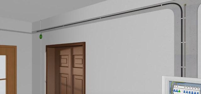 Как подключить двойной проходной выключатель, если есть 2 провода по 3 жилы?