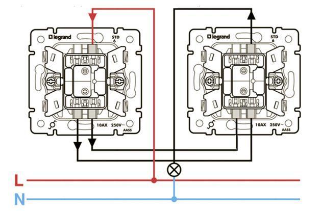 Как из проходного выключателя можно сделать обычный?