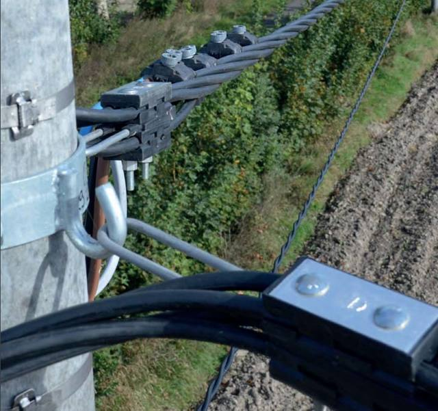 Можно ли провести провод, если от дома до столба 40 метров?