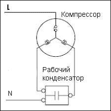 Какова схема подключения искрогасящих конденсаторов на коллекторный двигатель?