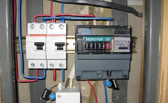 Трехфазные счетчики электроэнергии: установка и подключение
