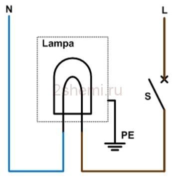 Как подключить выключатель света: схемы