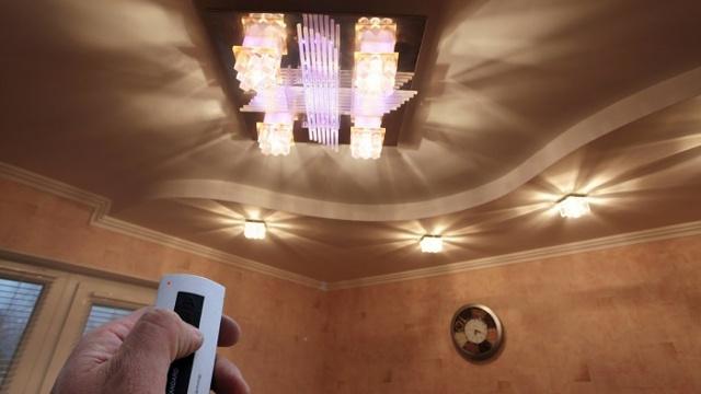 Управление освещением: импульсное, инфракрасное