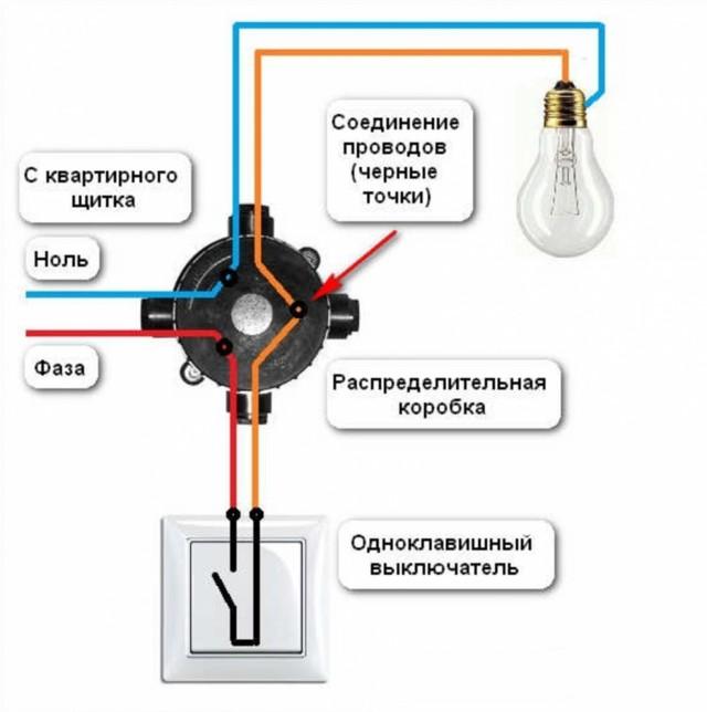Выключатель света: виды, подключение своими руками, схемы