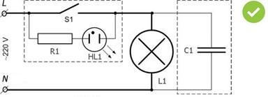 Почему мигают светодиодные лампы при включении тепловой пушки?