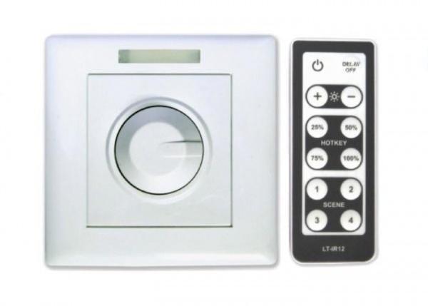 Как подключить обычный выключатель света вместо диммера?