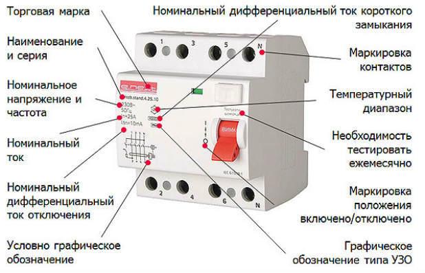 Что такое диф автомат АВВ: принцип работы, характеристики, схемы подключения