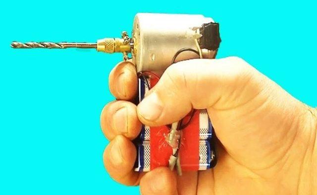 Собираем мини дрель своими руками: пошаговый мастер-класс