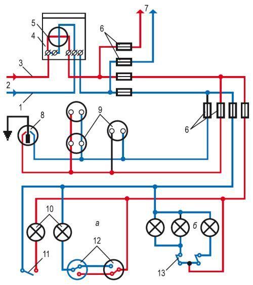 Можно ли использовать провод сечением 0,75 мм.кв. для подключения точечных светильников?