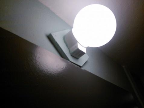 Светильник с датчиком движения для квартиры и подъезда