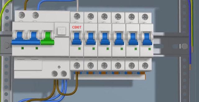 Как подключить две люстры к двойному выключателю?
