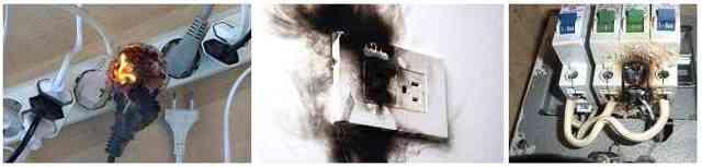 Почему в комнате произошел хлопок и вырубило свет?