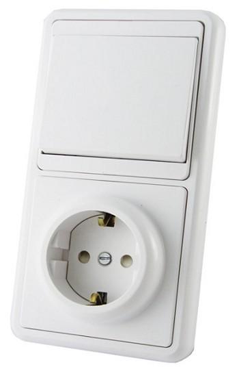 Как подключить розетку к выключателю, который смонтирован на стене?