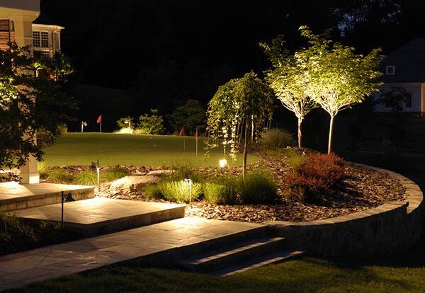Освещение на даче: фото примеры, требования, варианты подсветки, советы
