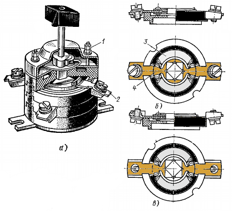 Пакетный выключатель: назначение, устройство, схема подключения