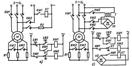 Крановые электродвигатели с фазным и короткозамкнутым ротором