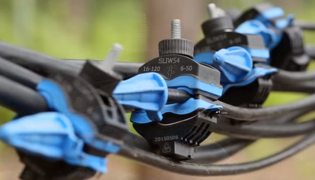 Какие зажимы подойдут для присоединения ВВГ кабеля к отходящей воздушной линии?