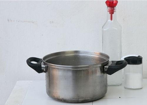 Почему утюг не нагревается после чистки солью?