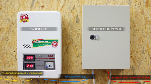 Можно ли мне поставить трансформатор (стабилизатор напряжения), чтобы запитать обогреватель на 2 кВт?