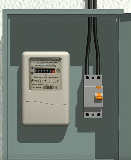 Как правильно подключить нулевой провод к 4х полюсному автомату?