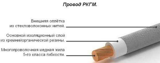 Провод РКГМ: расшифровка, технические характеристики, расшифровка