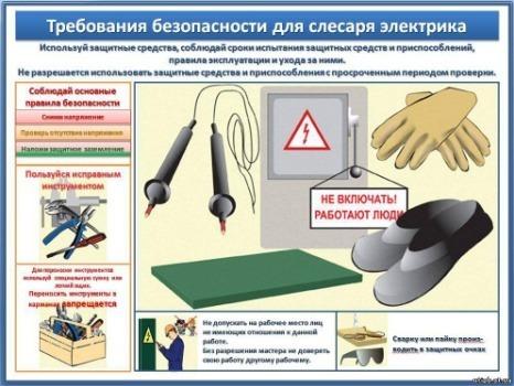 Техника безопасности при работе с электрооборудованием: основные правила