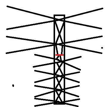 Дециметровая антенна для ТВ своими руками: схемы и чертежи с размерами