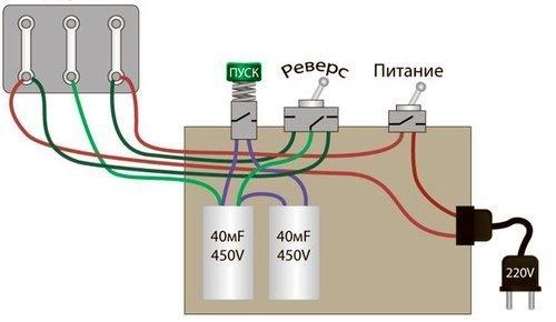 Что предпринять, если не запускается электродвигатель 5 КВт 220В от домашней сети?