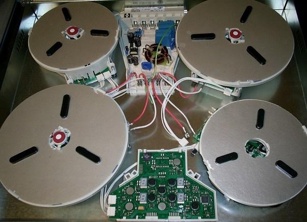 Почему греется сенсорный блок управления варочной панели?