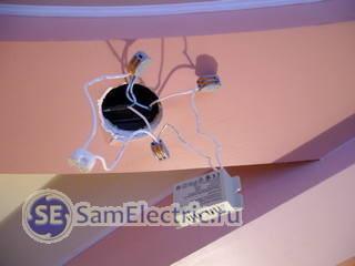 Как подключить Гранит-300 к лампочкам?