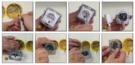 Как подключить от провода на освещение террасы розетку и линию освещения?