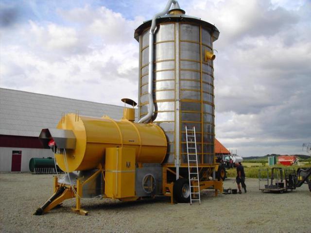 Автоматизация зерносушилок и зерносушильных комплексов