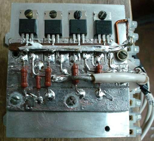 Регулятор оборотов электродвигателя: как сделать