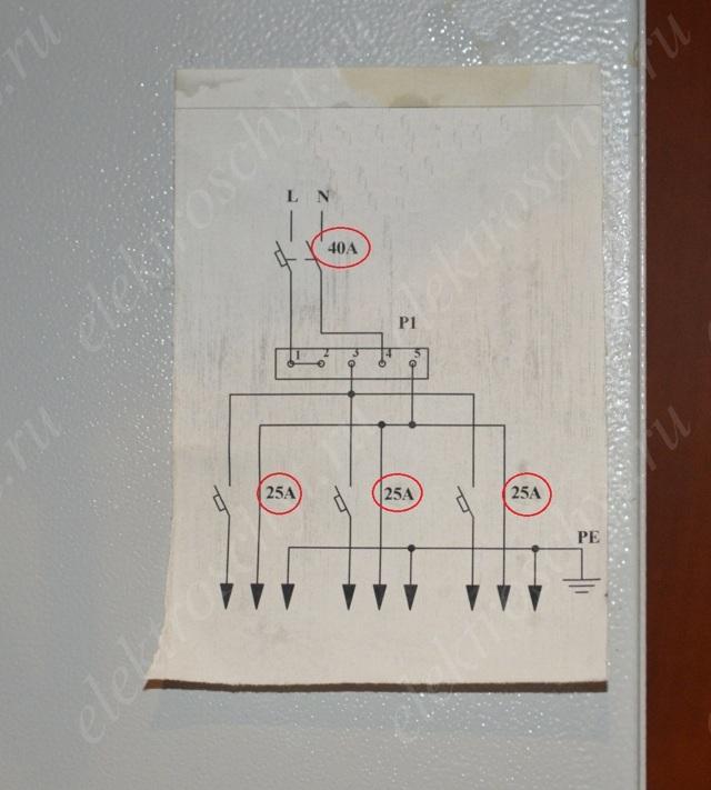 Какой автомат нужно поставить в квартире, если в подъезде стоит на 25 А?