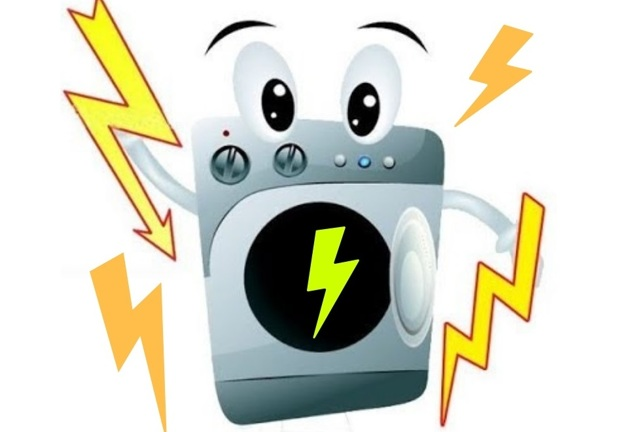 Звонится ли барабан стиральной машинки на «землю»?
