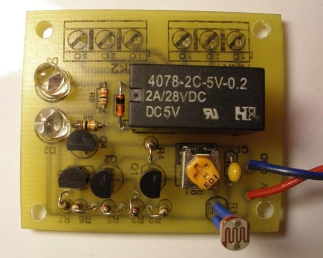 Сумеречный выключатель своими руками: инструкция, схема