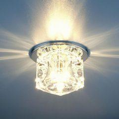 Точечные светильники для потолков: установка, фото