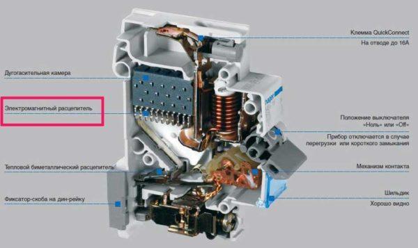 С какой стороны ноль на трехфазном дифавтомате Легранд 63А?