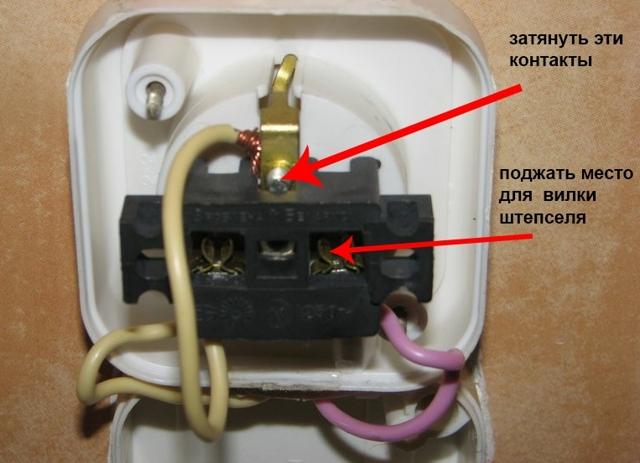 Почему нагревается вилка от удлинителя в розетке при включении водонагревателя?