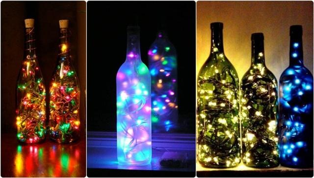 Как можно сделать мигающую гирлянду из лампочек?