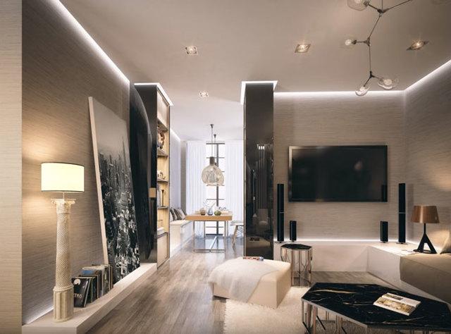 Как правильно сделать раздельное освещение в комнате?